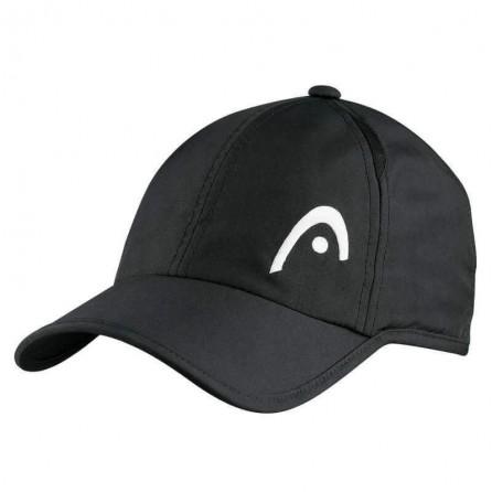 Casquette HEAD Pro player noir - raquette-padel.com