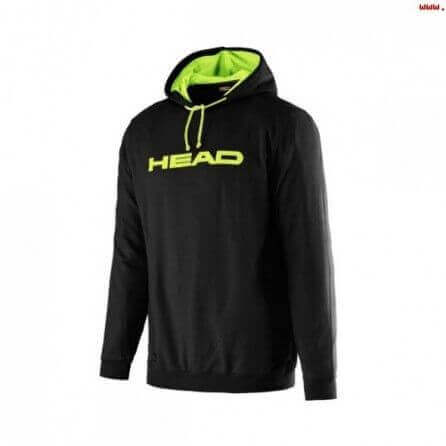 SWEAT HEAD BYRON Jr HOODY BKYR- raquette-padel.com