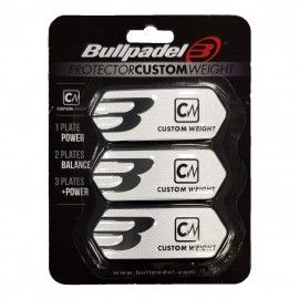 PROTECTEUR CUSTOM WEIGHT Bullpadel Blanc