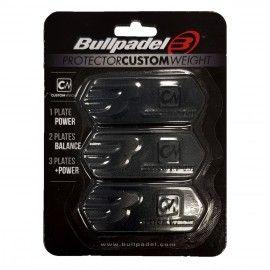 PROTECTEUR CUSTOM WEIGHT Bullpadel Blanc - raquette-padel.com