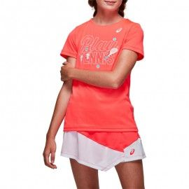 T-SHIRT TENNIS G KIDS GPXT ROSE