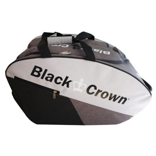 Sac BLACK CROWN CALM gris et noir - RAQUETTE-PADEL.COM.