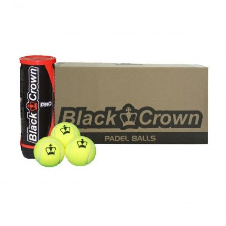 Balles Black Crown - raquette-padel.com